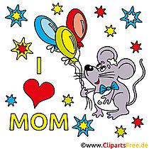Muttertagsgeschenke selber machen mit unseren Cliparts
