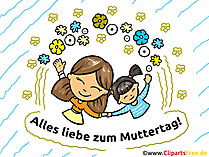 Muttertagsgrüße kostenlos ausdrucken und verschenken
