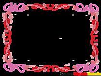 Şeffaf resim şablonu için çerçeve