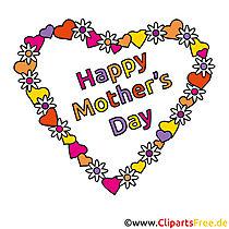 Güzel anneler günü clipart