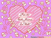 Anneler Günü'nde anne için dilek kartı