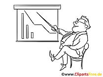 Aktienchart Clipart, Bild, Zeichnung, Cartoon