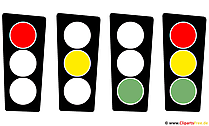 Traffic light graphic