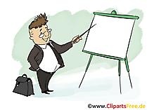 Banker Bild, Clipart, Grafik, Cartoon, Illustration