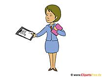 Business Woman Clip Art