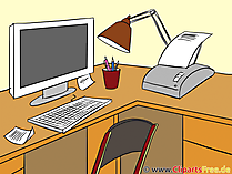 Clip Art Work Place
