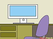 Clipart Bildschirm