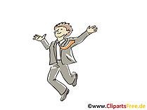 Erfolg Business Clipart, Grafik, Bild