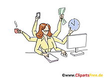 Schreibtisch büro clipart  Office Clipart download Bilder, Cliparts, Cartoons, Grafiken ...