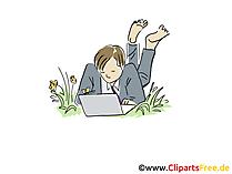 Freelance Clip Art, Grafik, Bild, Cartoon