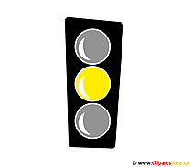 Gelbe Ampel Bild