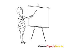Geschaeftsfrau Clipart, Bild, Zeichnung, Grafik