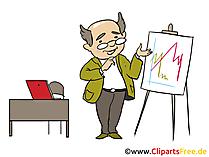 Geschaeftsfuehrer Bild, Clipart, Grafik, Cartoon, Illustration