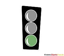 Grüne Ampel Clipart