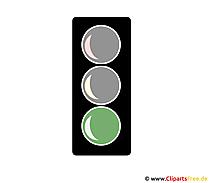 Grüne Ampel Cliparts
