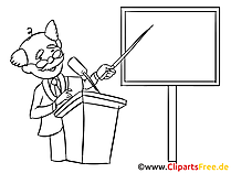 Instructor Clipart, Bild, Zeichnung, Cartoon