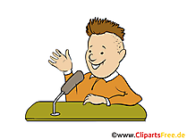 Interview Clipart, Bild, Grafik, Cartoon gratis