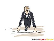 Karriere Clipart, Grafik, Bild, Cartoon