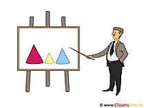 Präsentation Clipart - Vorstellung Bild