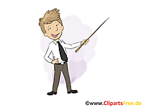 Student Praktikant  Bild, Grafik, Clipart, Cartoon