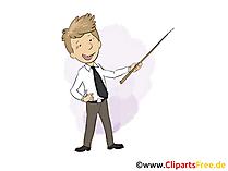 Student Praktikant  Bild, Grafik, Clipart, Cartoon