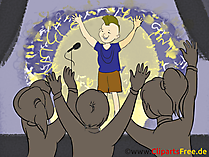 Superstar Clipart, Bild, Grafik, Cartoon gratis
