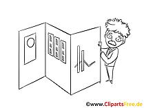Unternehmer Clipart, Bild, Zeichnung, Cartoon