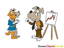Versicherungsmakler Clipart, Bild, Grafik, Cartoon gratis