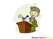 Vorstand Bild, Clipart, Grafik, Cartoon, Illustration