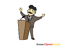 Wahlen Bild, Clipart, Grafik, Cartoon, Illustration