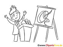Wirtschaft Clipart, Bild, Zeichnung, Cartoon