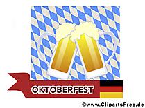 Bier Bilder zum Oktoberfest zum Drucken