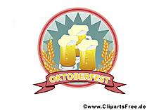 Bier Illustration, Bild, Plakat, Grafik, Clipart