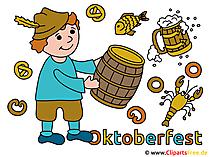 Cliparts Oktoberfest