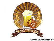 Oktoberfest, Bierfest Bild. Grafik, Clipart