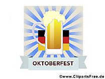 Oktoberfest Clipart und Illustrationen