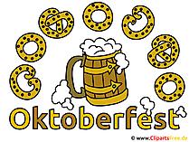 Oktoberfest Karte