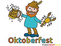 Oktoberfest poster şablonu