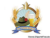 Пиво Октоберфест клипарты, картинки, графика