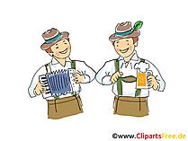 Tirol Clipart, Bild, Grafik, Illustration, Comic, Cartoon gratis