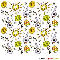 Paskalya için bedava cliparts