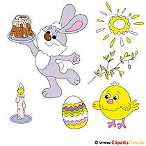 Frohe Ostern Bilder gratis