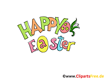 Vrolijk Pasen Clipart, Pic, Afbeelding