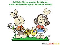 Lustige Ostern Sprüche mit Bildern