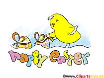 Tebrik kartları ve davetiyeler işçiliği için Paskalya resimleri