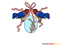 イースターエッグクリップアート - 美しいイースターの写真