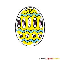 Paskalya yumurtası kartı