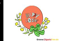 Paskalya yumurtası ücretsiz Paskalya tebrik kartı