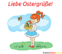 Ostergrafik Liebe Ostergrüsse