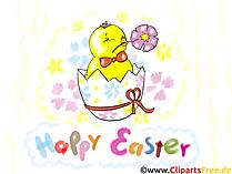 Resim, küçük resim, grafik, tebrik kartları gibi Paskalya selamlar